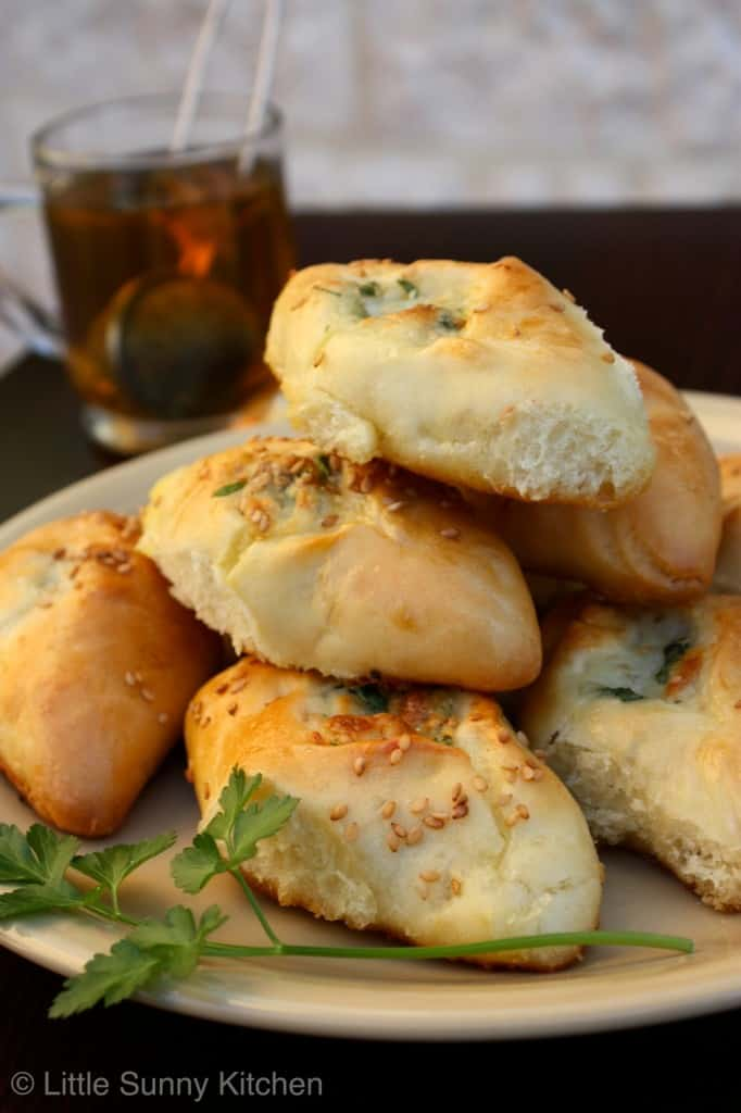 white cheese pastries