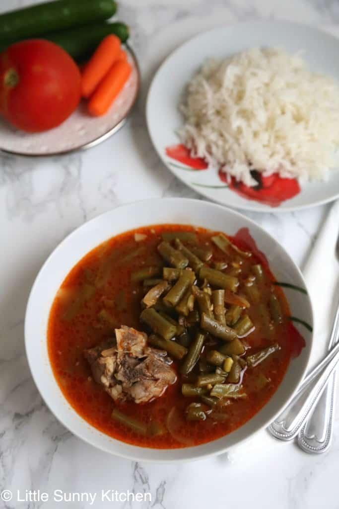 crockpot french beans dish-2