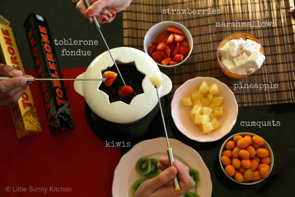 Toblerone Fondue-5