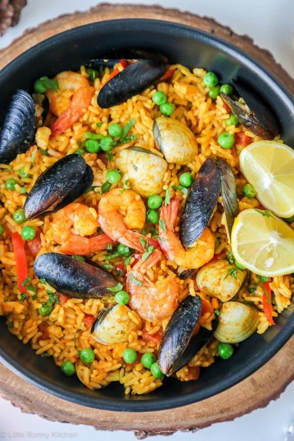 Spanish Seafood Paella Recipe Food Network